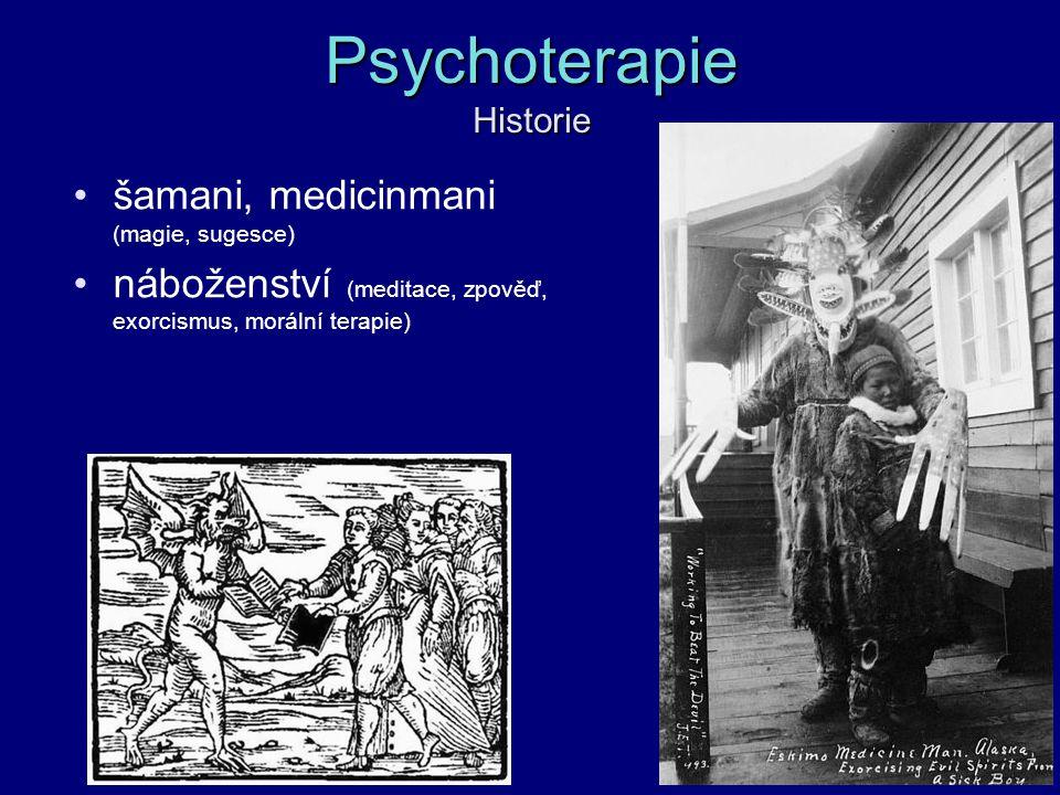 Psychoterapie Historie