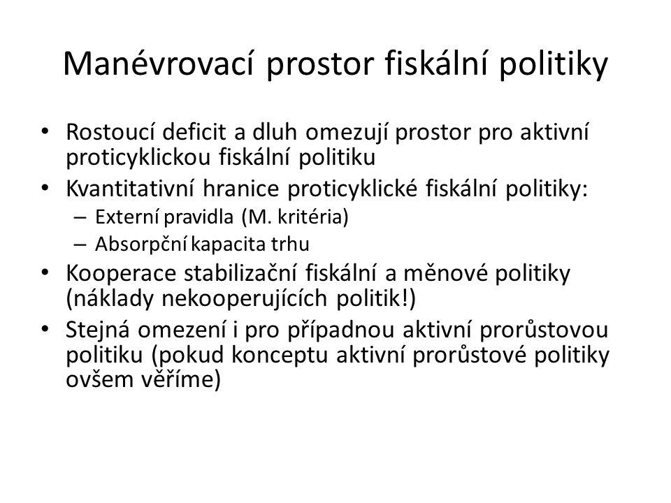 Manévrovací prostor fiskální politiky