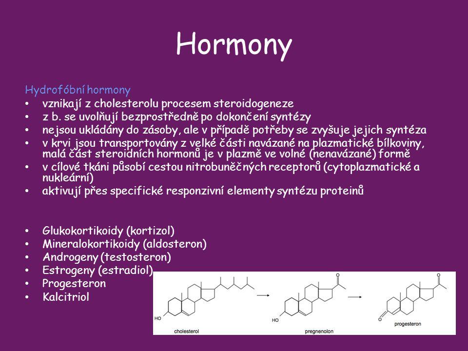 Hormony Hydrofóbní hormony