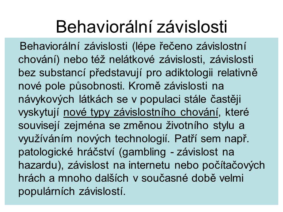 Behaviorální závislosti