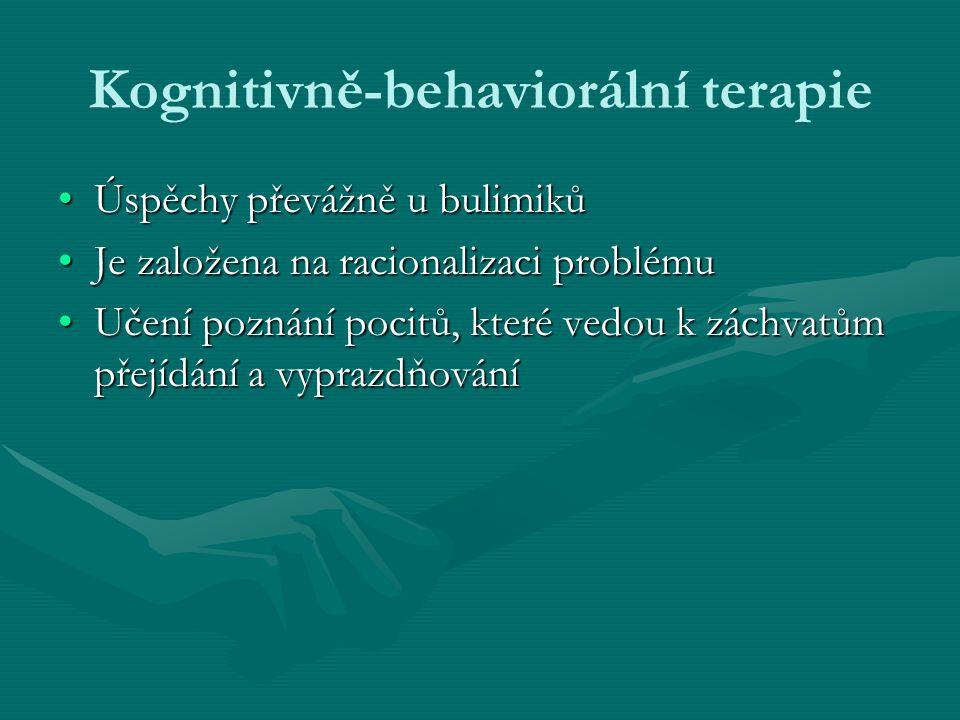 Kognitivně-behaviorální terapie