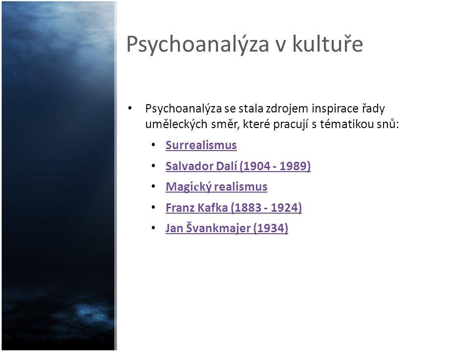 Psychoanalýza v kultuře