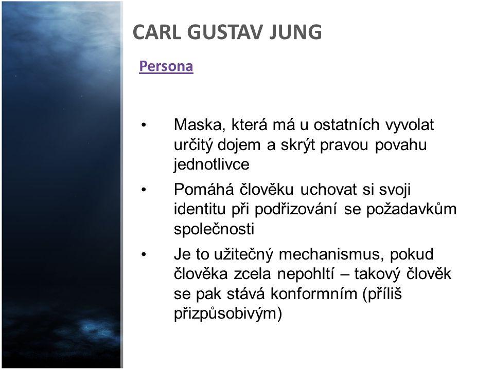 Persona CARL GUSTAV JUNG