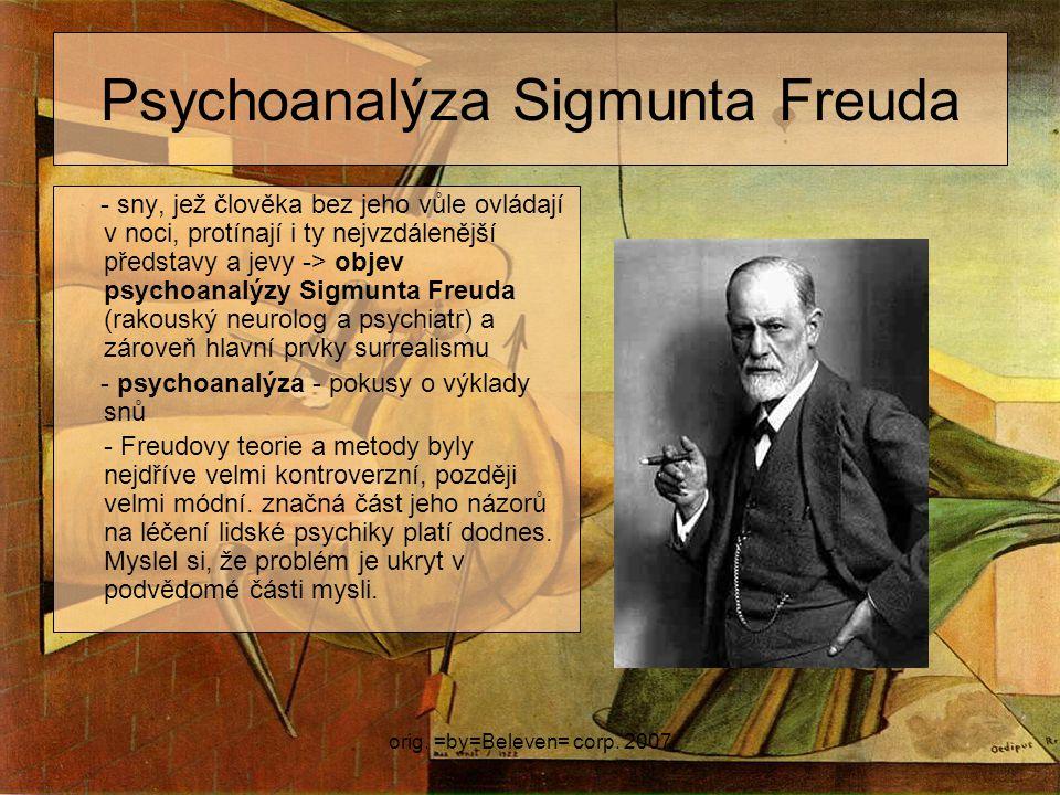 Psychoanalýza Sigmunta Freuda