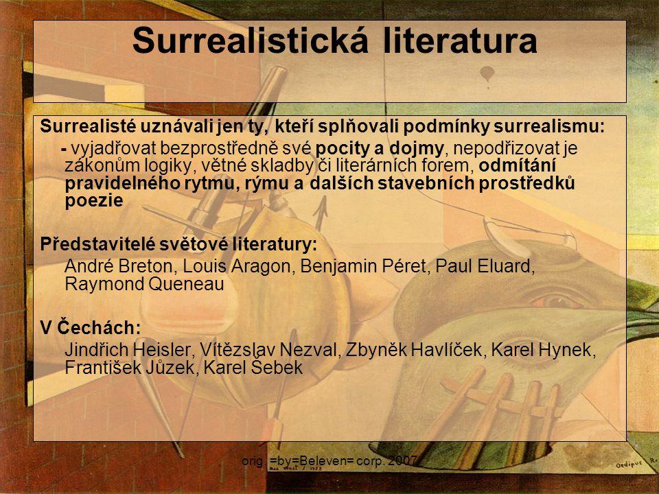 Surrealistická literatura