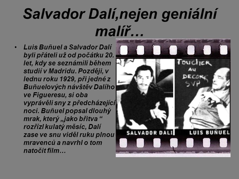 Salvador Dalí,nejen geniální malíř…