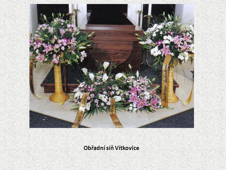 Obřadní síň Vítkovice