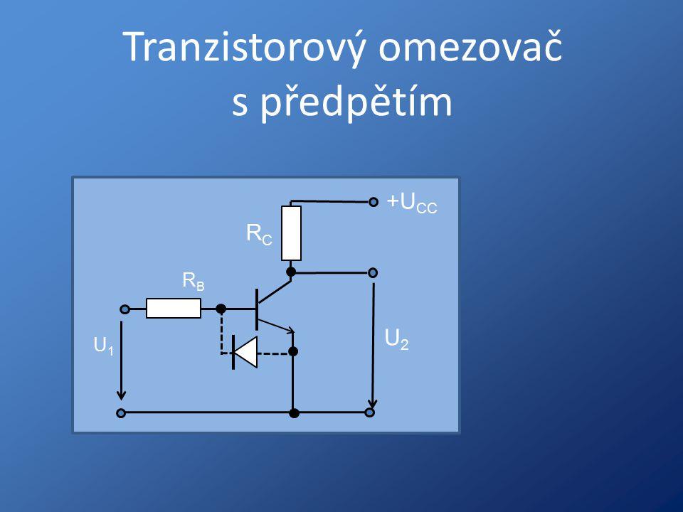 Tranzistorový omezovač s předpětím