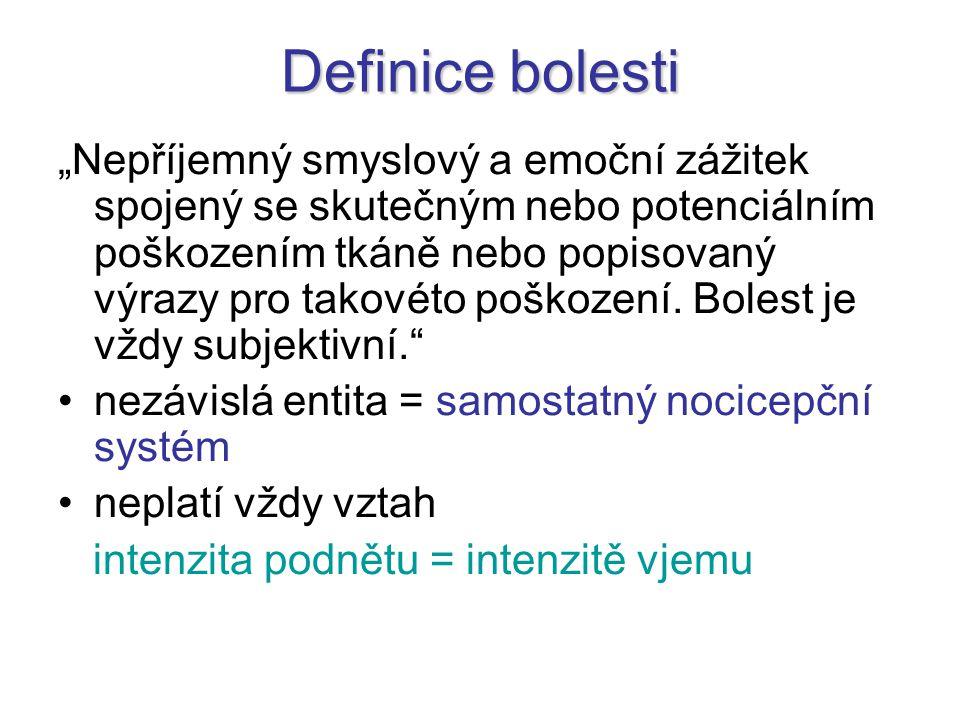 Definice bolesti
