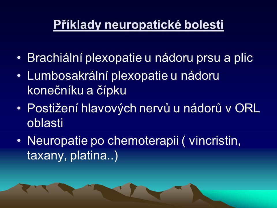 Příklady neuropatické bolesti