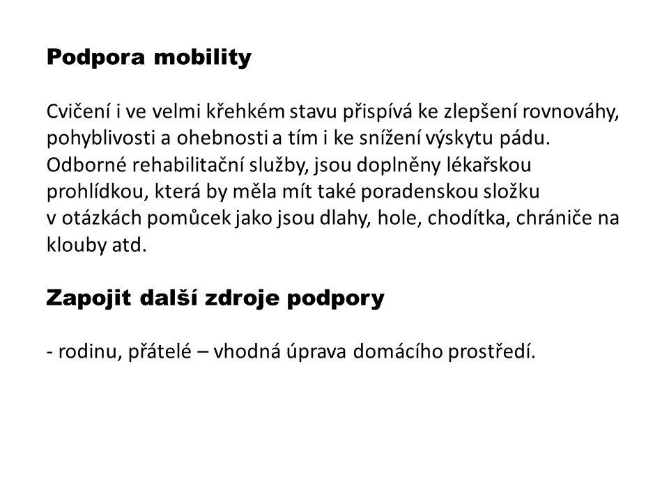 Podpora mobility