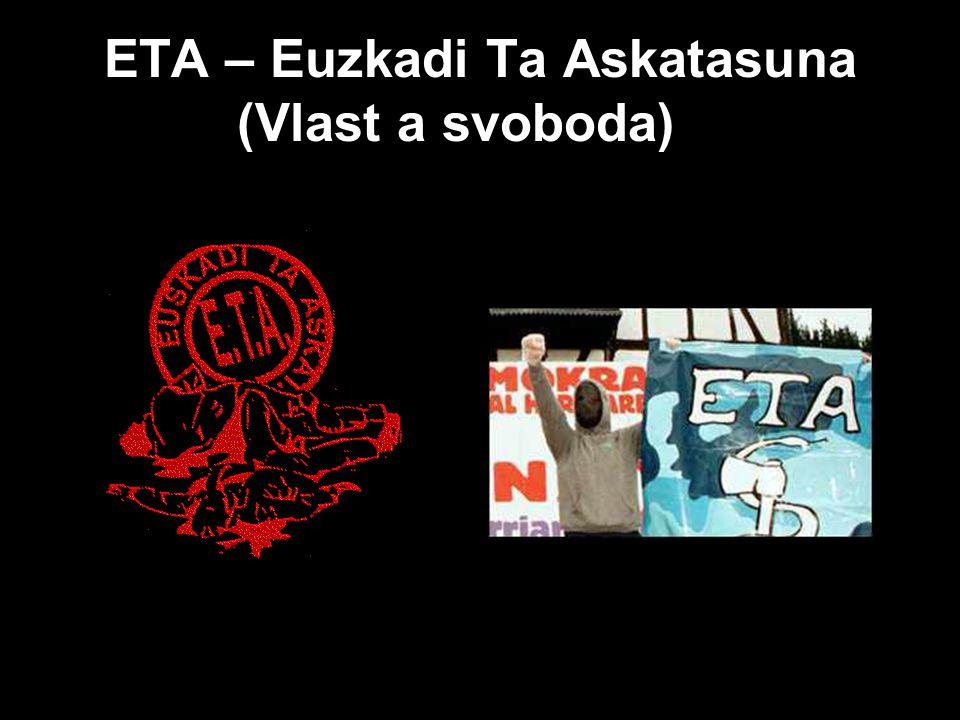ETA – Euzkadi Ta Askatasuna (Vlast a svoboda)