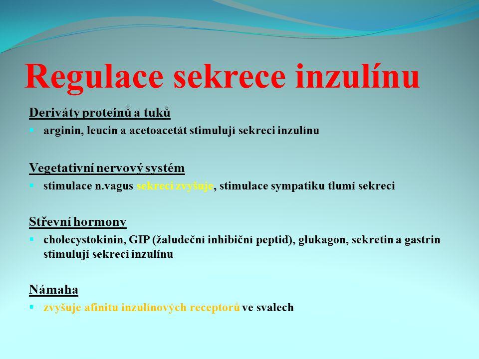 Regulace sekrece inzulínu