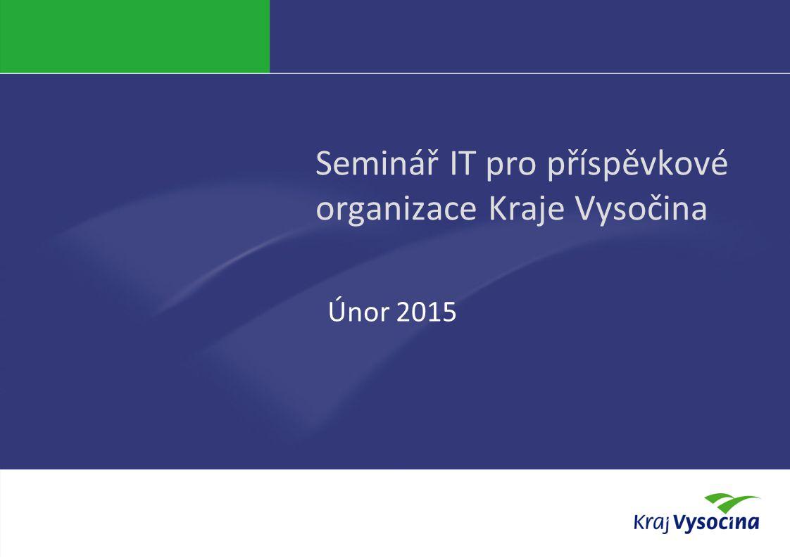 Seminář IT pro příspěvkové organizace Kraje Vysočina