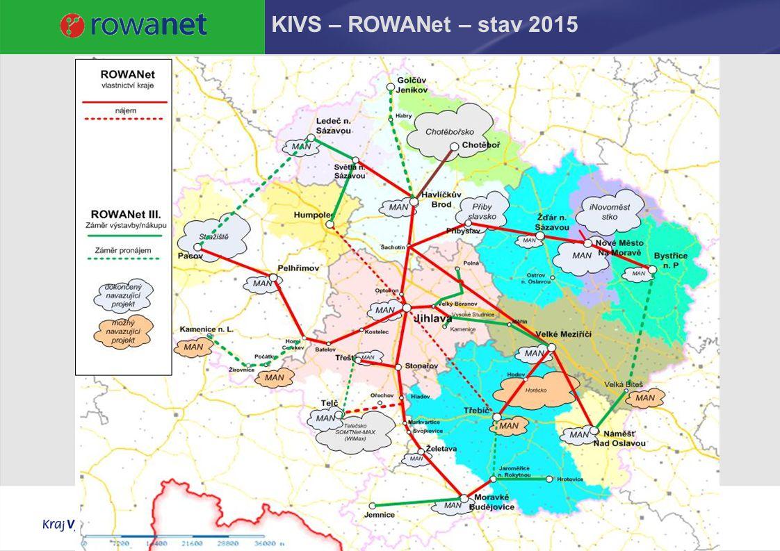 KIVS – ROWANet – stav 2015 12.4.2017