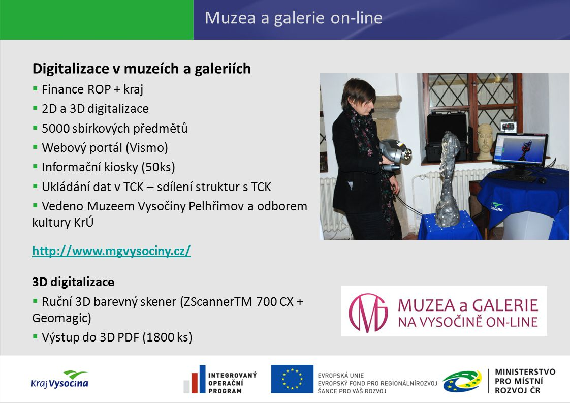 Muzea a galerie on-line