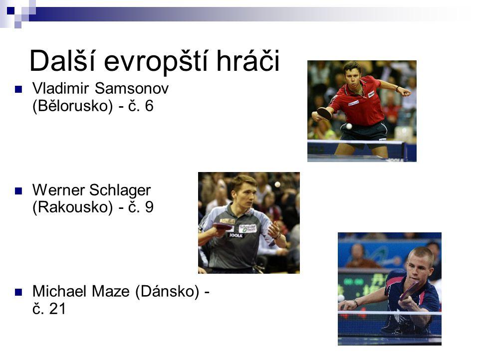 Další evropští hráči Vladimir Samsonov (Bělorusko) - č. 6