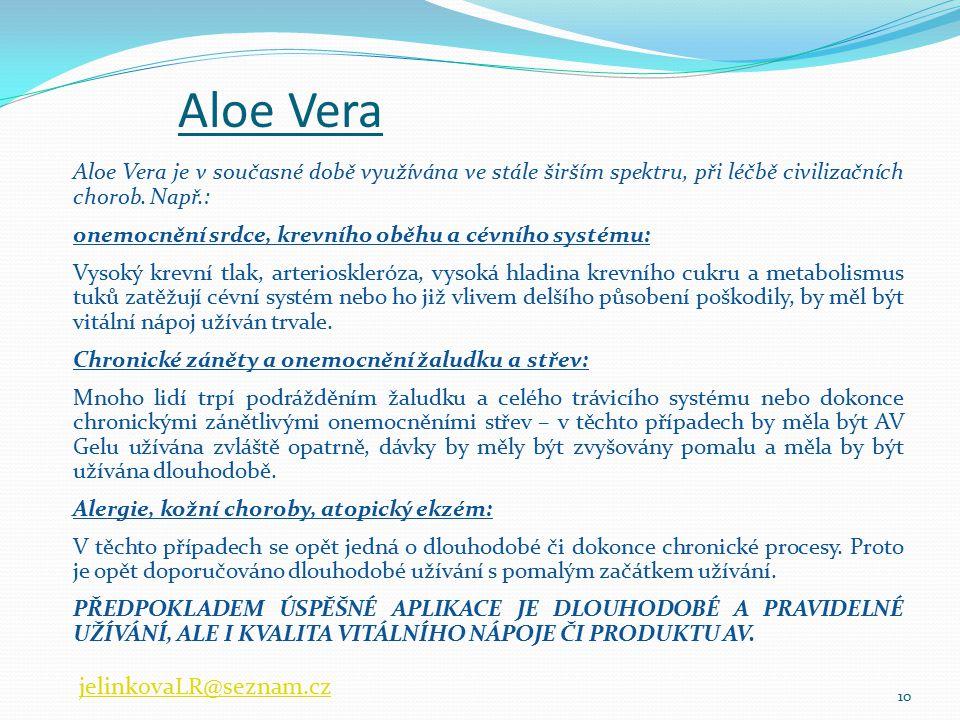 Aloe Vera jelinkovaLR@seznam.cz