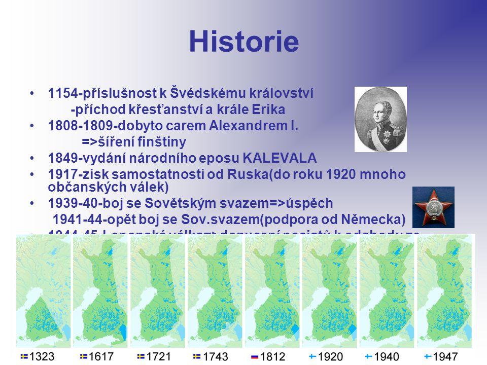 Historie 1154-příslušnost k Švédskému království