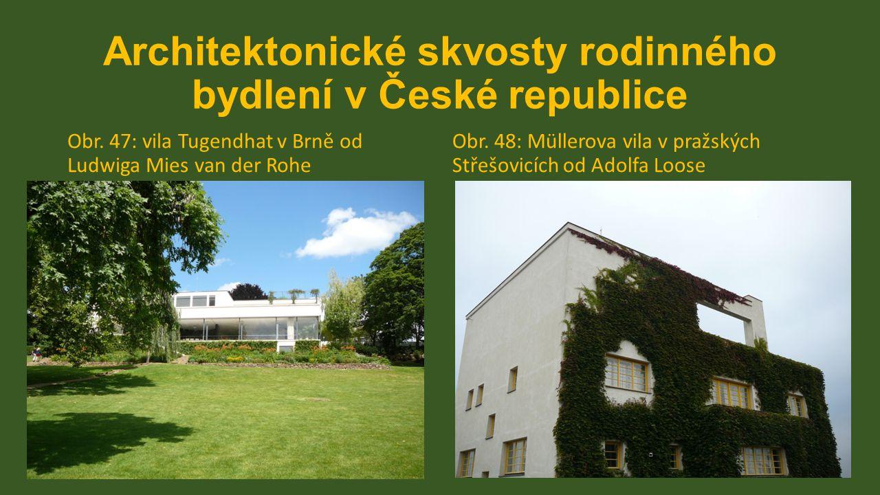 Architektonické skvosty rodinného bydlení v České republice