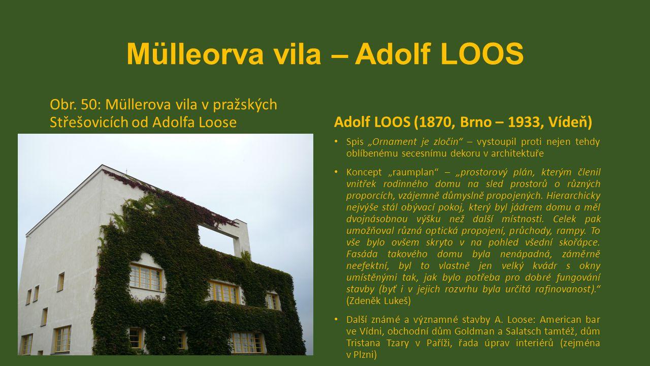 Mülleorva vila – Adolf LOOS
