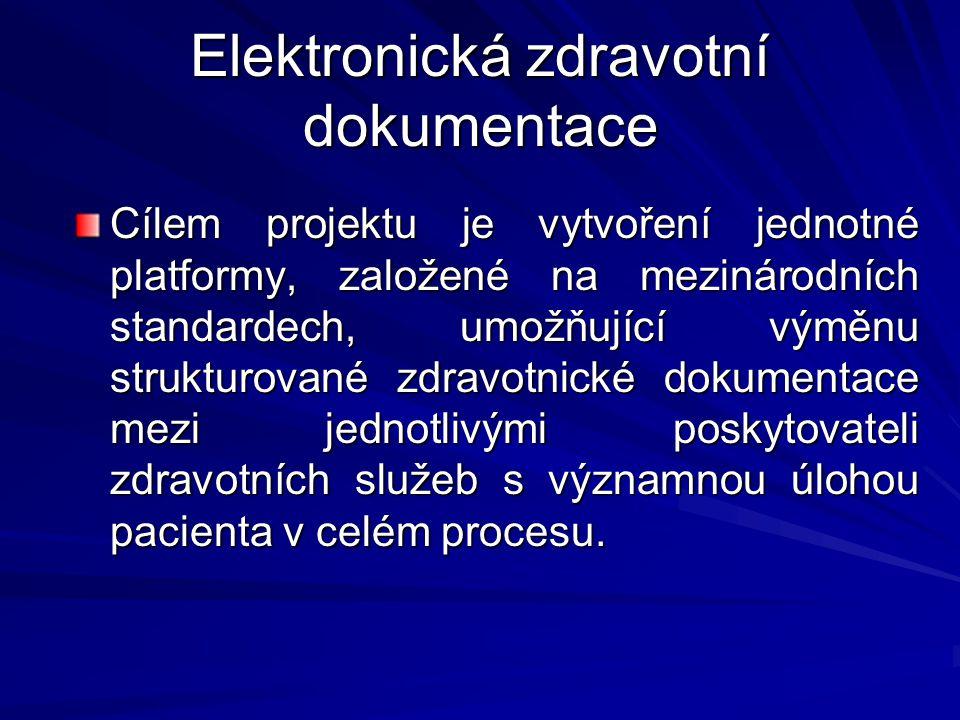 Elektronická zdravotní dokumentace