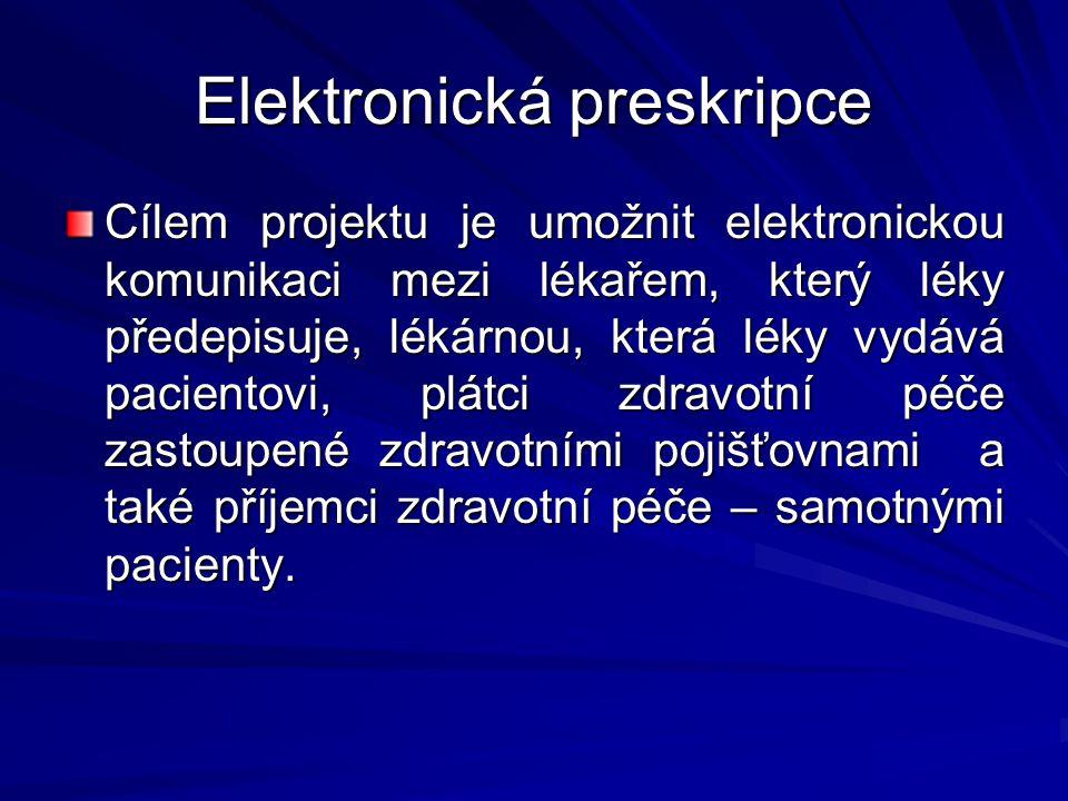 Elektronická preskripce
