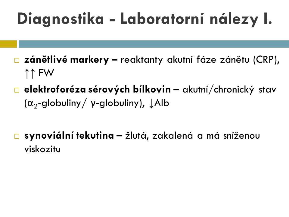 Diagnostika - Laboratorní nálezy I.
