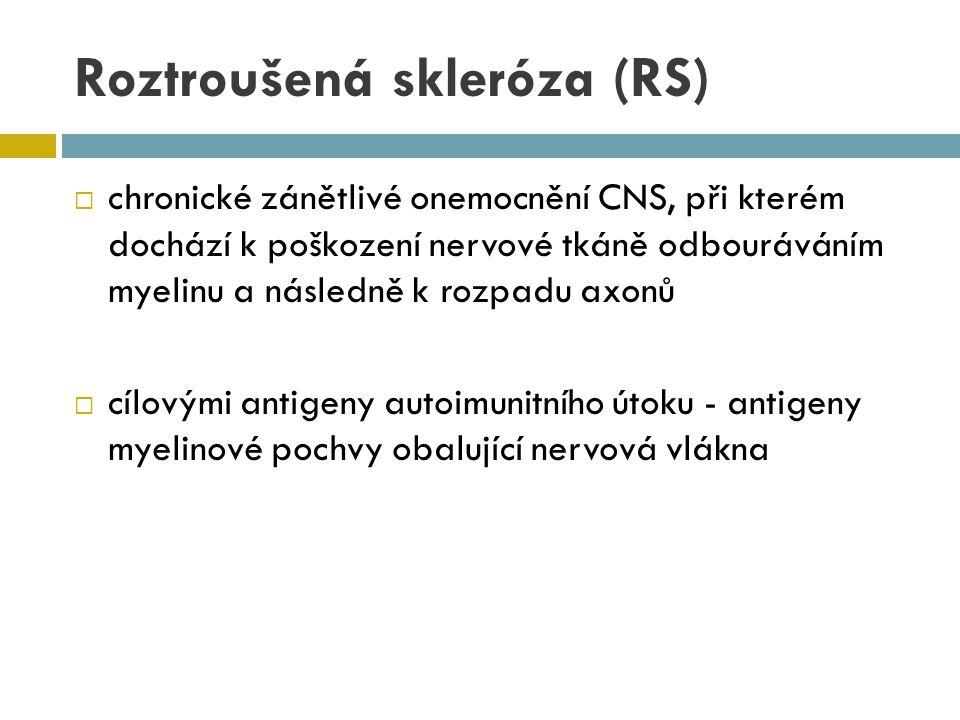 Roztroušená skleróza (RS)