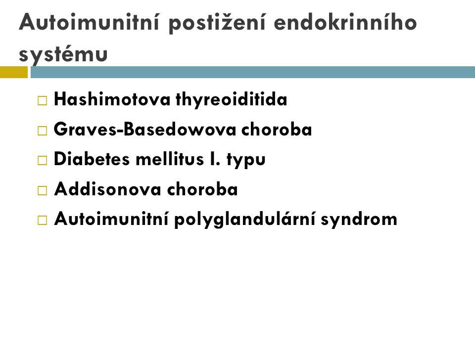 Autoimunitní postižení endokrinního systému