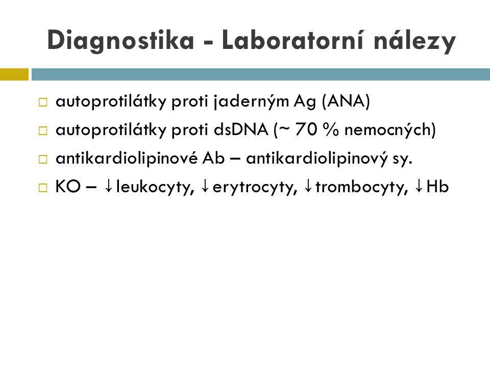 Diagnostika - Laboratorní nálezy