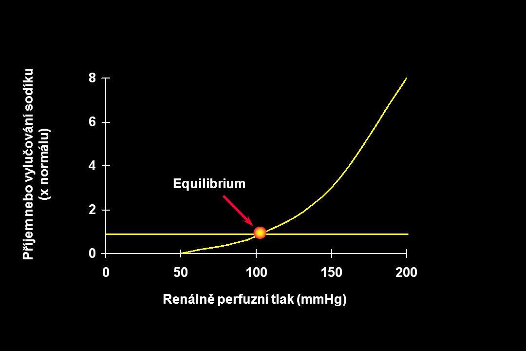 Příjem nebo vylučování sodíku