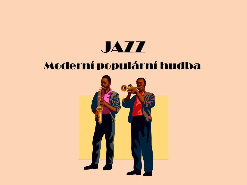 Moderní populární hudba