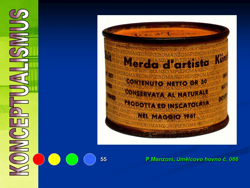 55 P.Manzoni, Umělcovo hovno č. 066