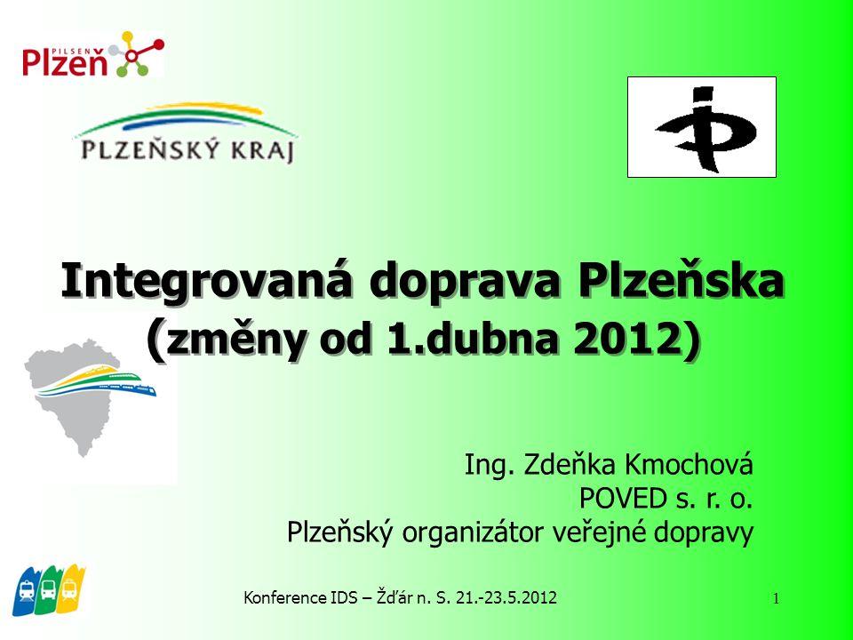 Integrovaná doprava Plzeňska (změny od 1.dubna 2012)