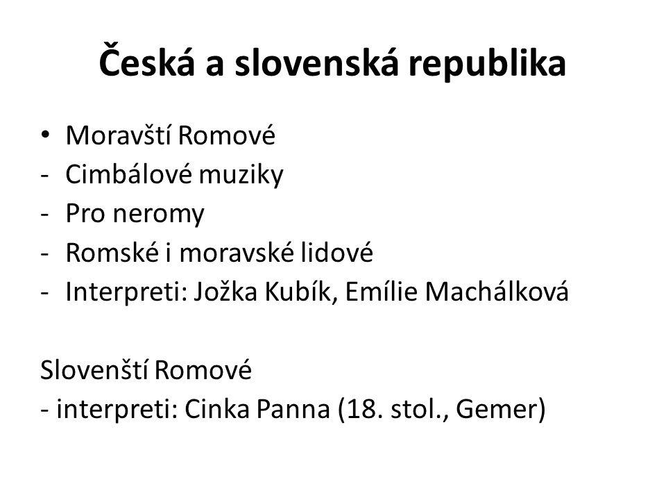 Česká a slovenská republika