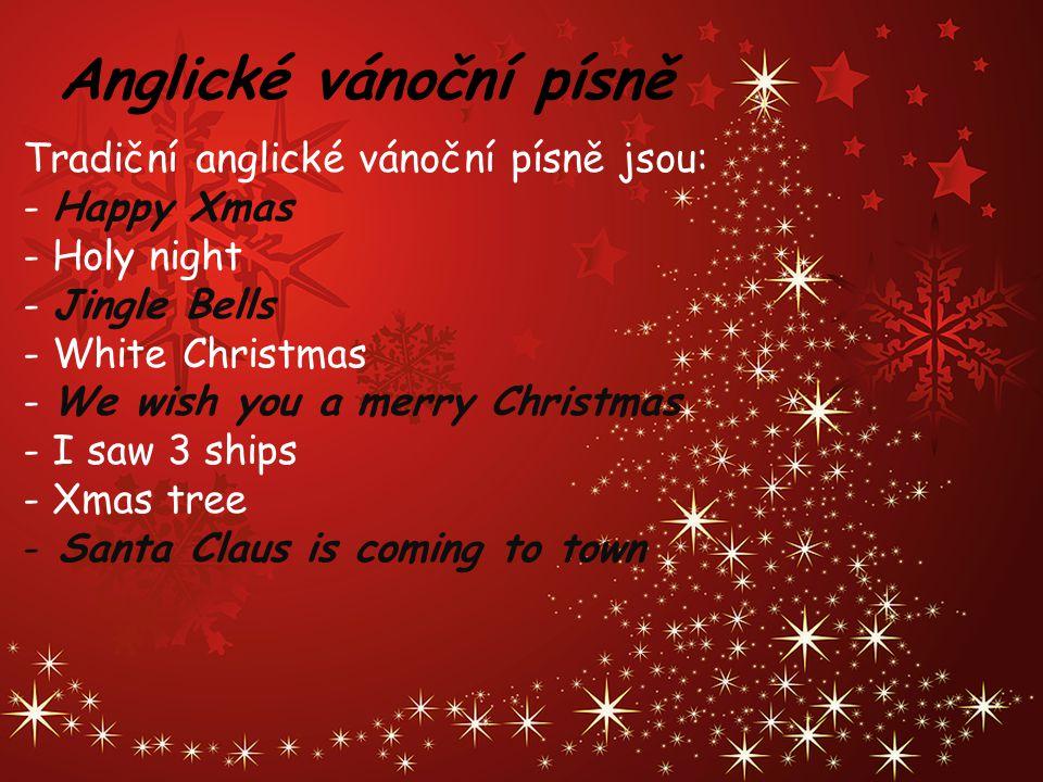 Anglické vánoční písně