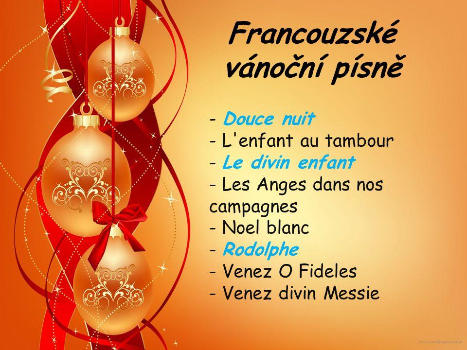 Francouzské vánoční písně