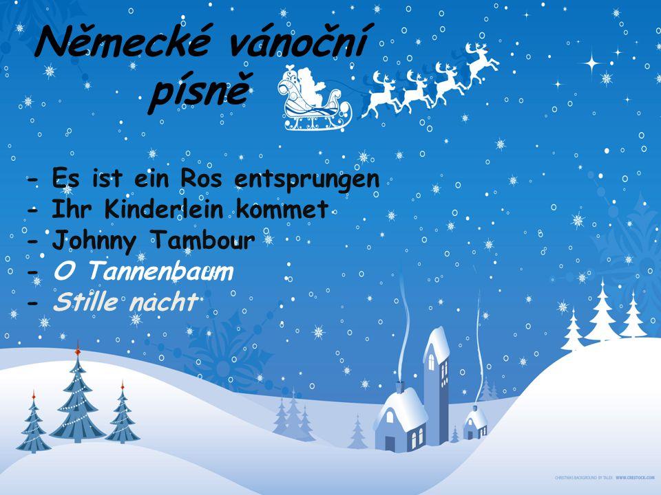 Německé vánoční písně - Es ist ein Ros entsprungen