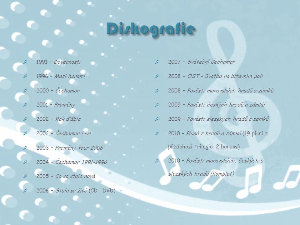 Diskografie 1991 – Dověcnosti 2007 – Sváteční Čechomor