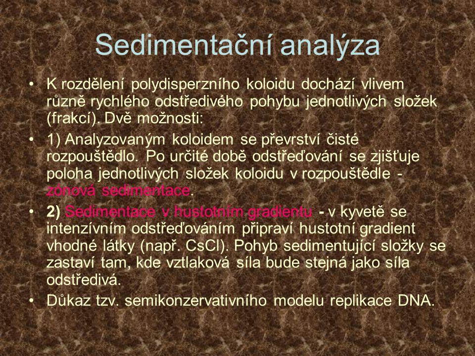 Sedimentační analýza