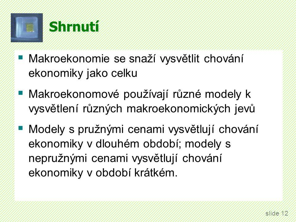 Literatura Holman (2010): Kapitola 1: Ekonomická rovnováha.
