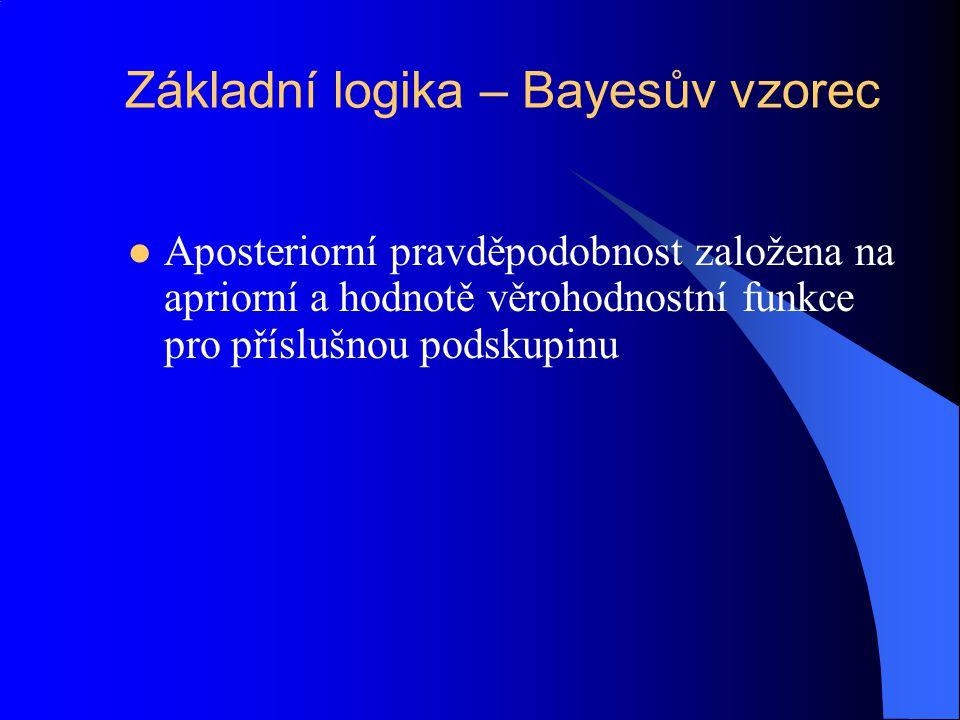 Základní logika – Bayesův vzorec
