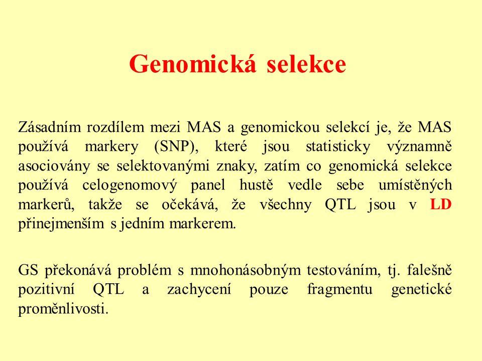 Genomická selekce