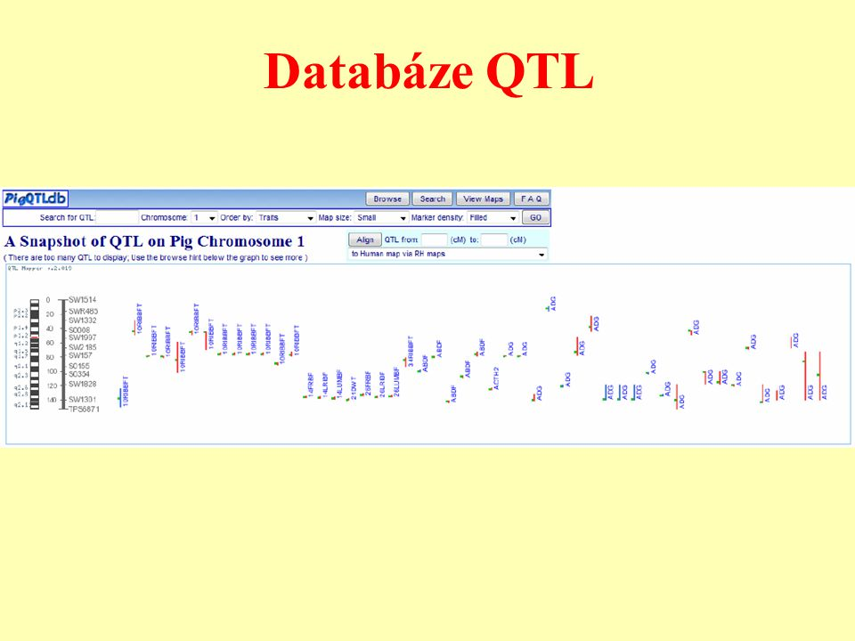 Databáze QTL