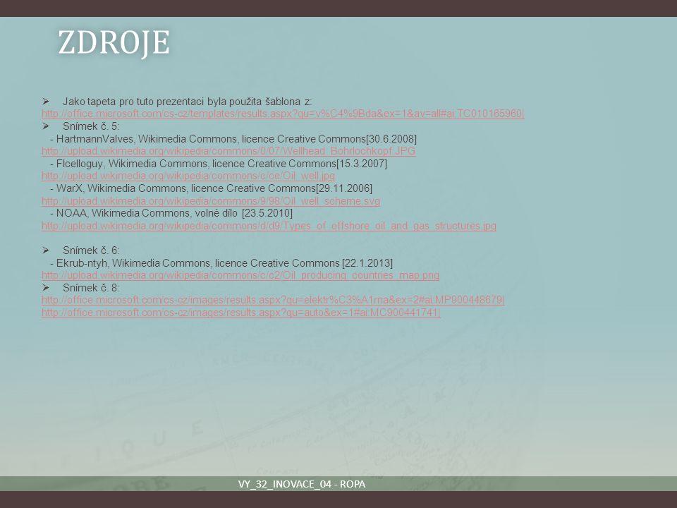 ZDROJE VY_32_INOVACE_04 - ROPA