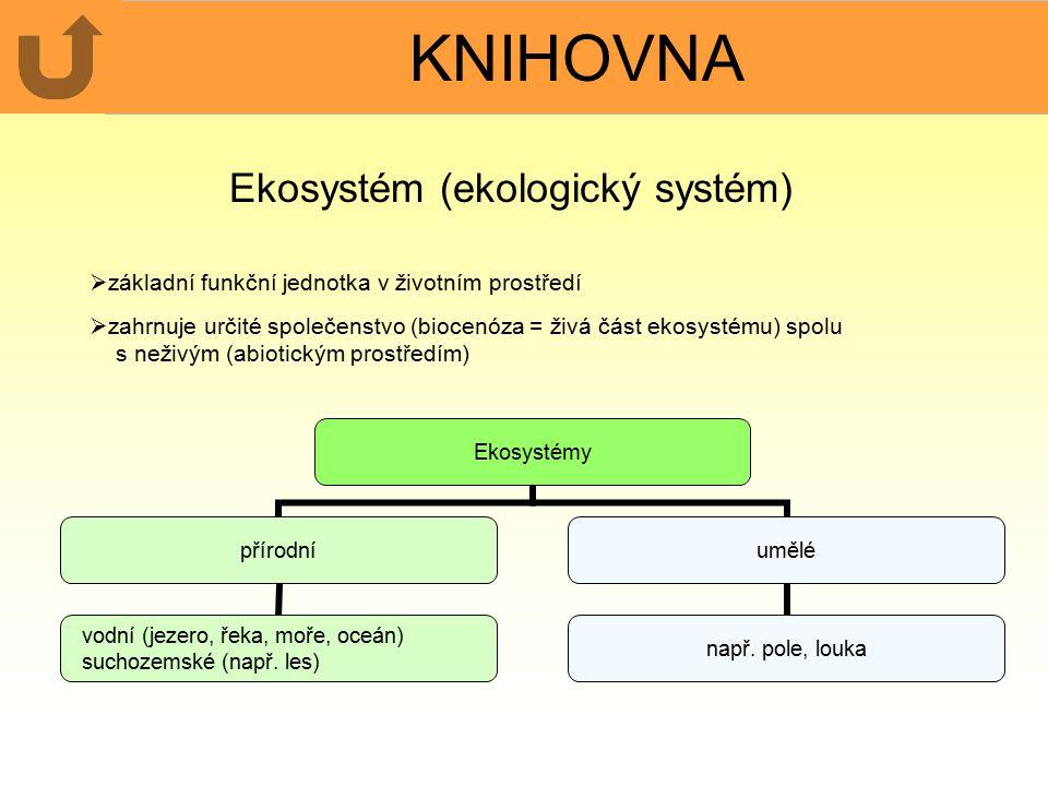 Ekosystém (ekologický systém)