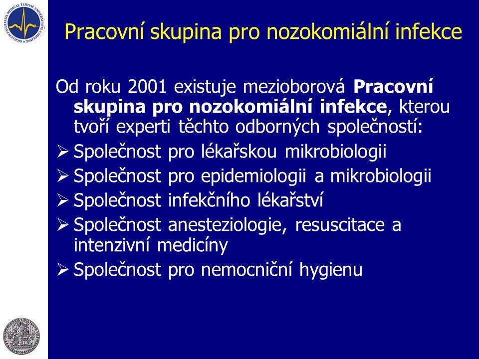 Pracovní skupina pro nozokomiální infekce