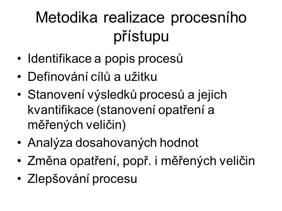 Metodika realizace procesního přístupu