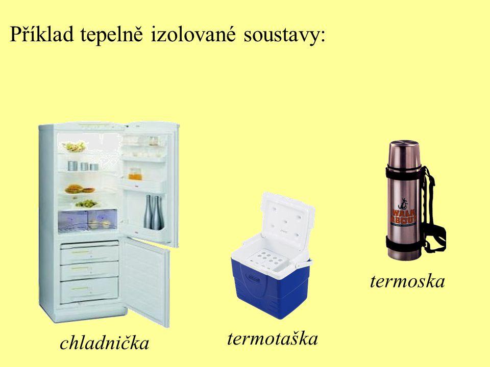 Příklad tepelně izolované soustavy: